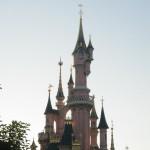 Törnrosas slott i kvällssol