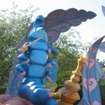 Disneyland: Alice i underlandets labyrint med larven