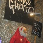 Banksys syn på julen är inte helt vintervit
