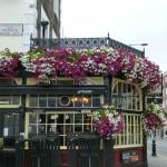 En trevlig pub bredvid Satchi, Torsten gillade den mer än galleriet...