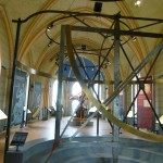 Interiör från muséet