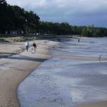 I Åhus badar man i Hanöbukten