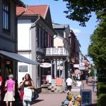Shopping på Storgatan, ingen stress här inte