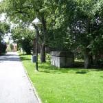 På väg mot den gamla klosterruinen