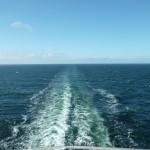 126 Ombord, utsikt bakåt.