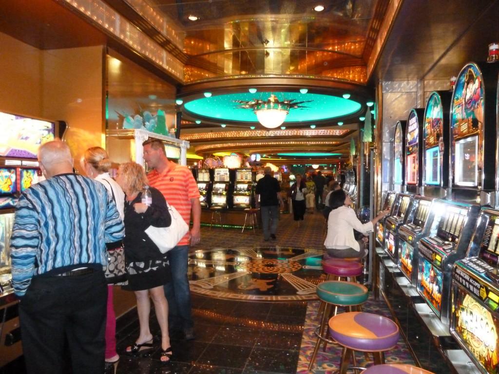135 Ombord, casinot var enormt