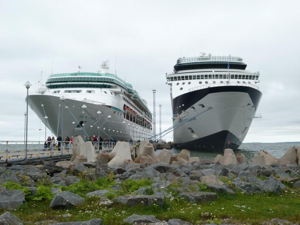 202 Tallin Vision of the Seas och hennes systerfartyg från Celebrity Cruises
