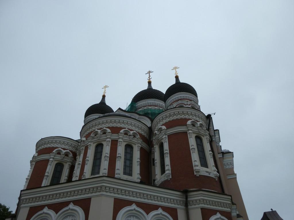 219 Tallin, även i Estland finns ståtliga katedraler med lökkupoler