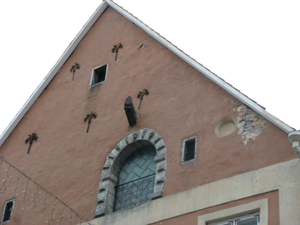 223 Tallin, vackra gamla hus fanns det gott om i gamla stan