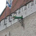 225 Tallin, vackra gamla hus fanns det gott om i gamla stan