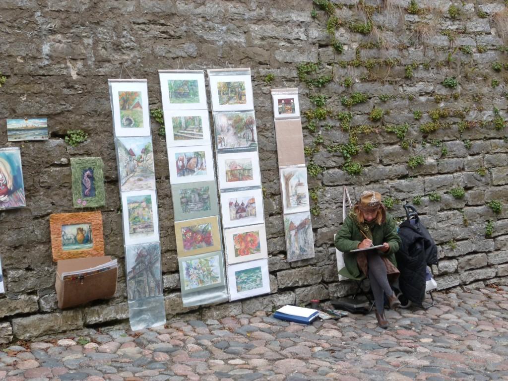 241 Tallin, här fanns många konstnärer.