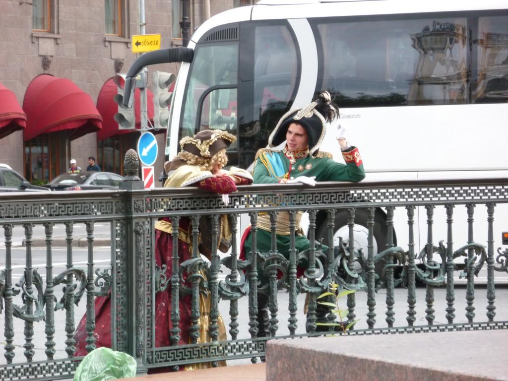 312 Populärt att klä ut sig även i St Petersburg för turisternas skull