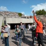 P1070344 Klippkyrkan skall alla turister se