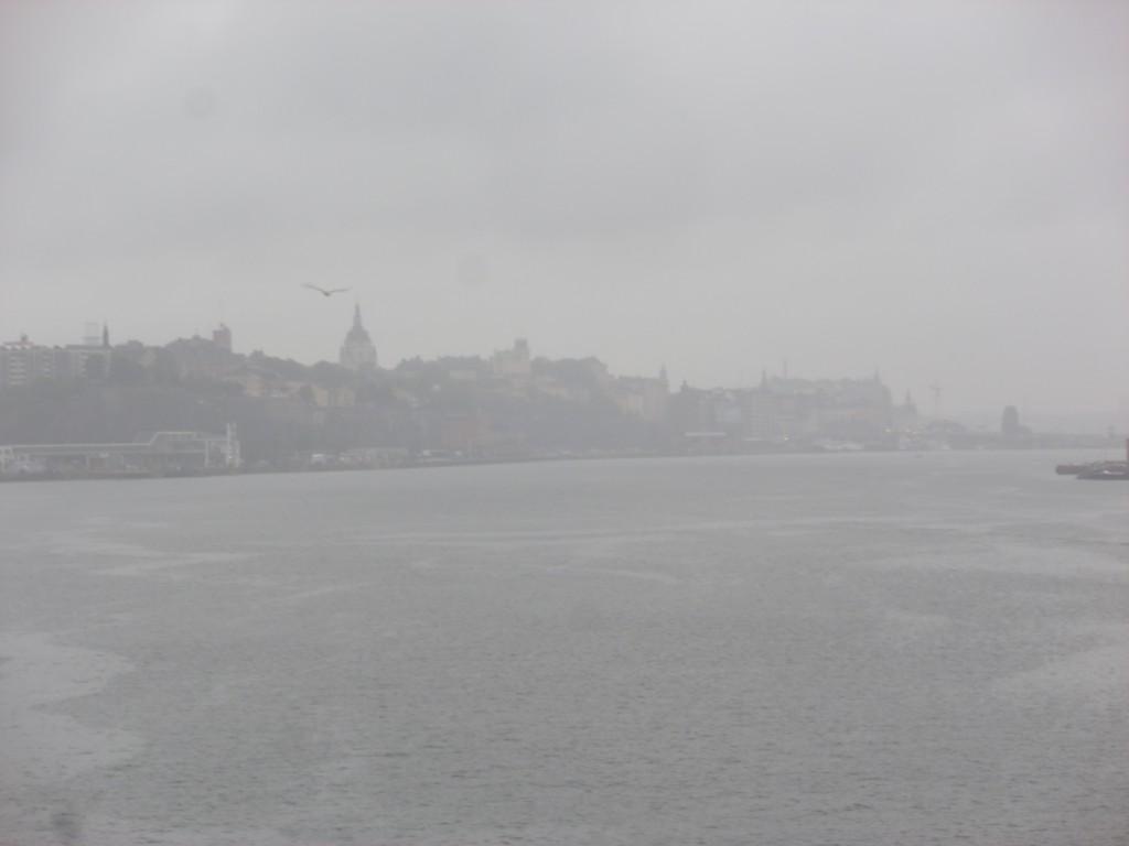Stockholm i regndis