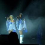 Kvällens show efter Stockholm var givetvis Abbainspirerad