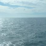 Det vackra havet räcker som sysselsättning till oss